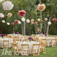 Whimsical Outdoor Reception Decor | Our Big Day - Navy ...