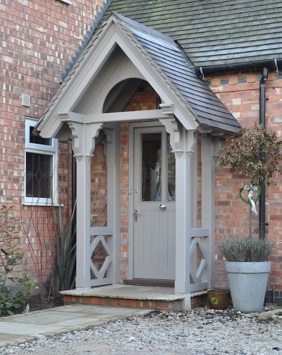 25+ best ideas about Front door porch on Pinterest