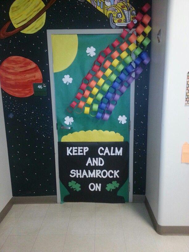 St. Patrick's Day Classroom Door March