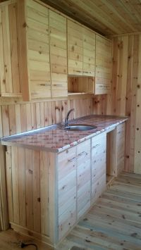 17 Best ideas about Pallet Kitchen Cabinets on Pinterest ...