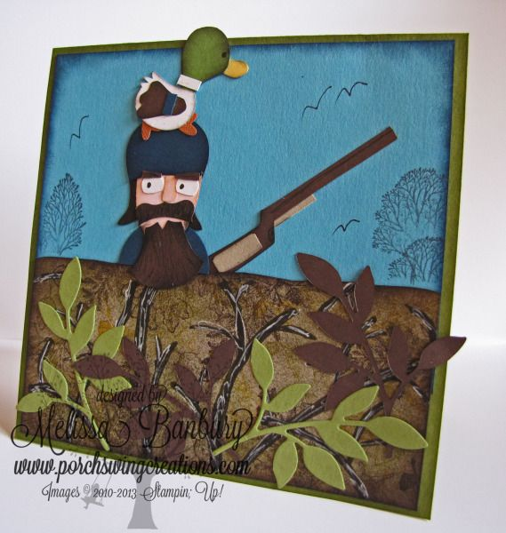 Duck Hunter By Melissabanbury Cards And Paper Crafts At