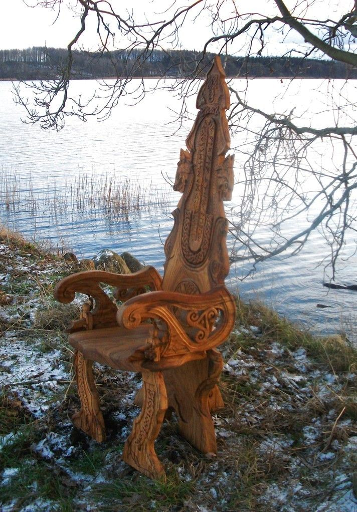 chair stools wooden revolving justdial viking carving wood | my art pinterest wood, vikings and