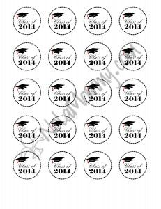 17 Best ideas about Graduation Cupcake Toppers on
