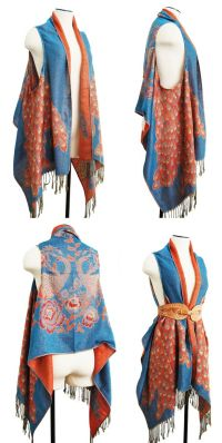 25+ Best Ideas about Scarf Vest on Pinterest | Scarf to ...