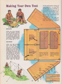 make your own tent | diy camp gear | Pinterest | Tent ...