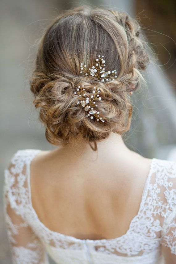 Hair Jewelry For A Wedding 25 Best Ideas About Bridal Hair