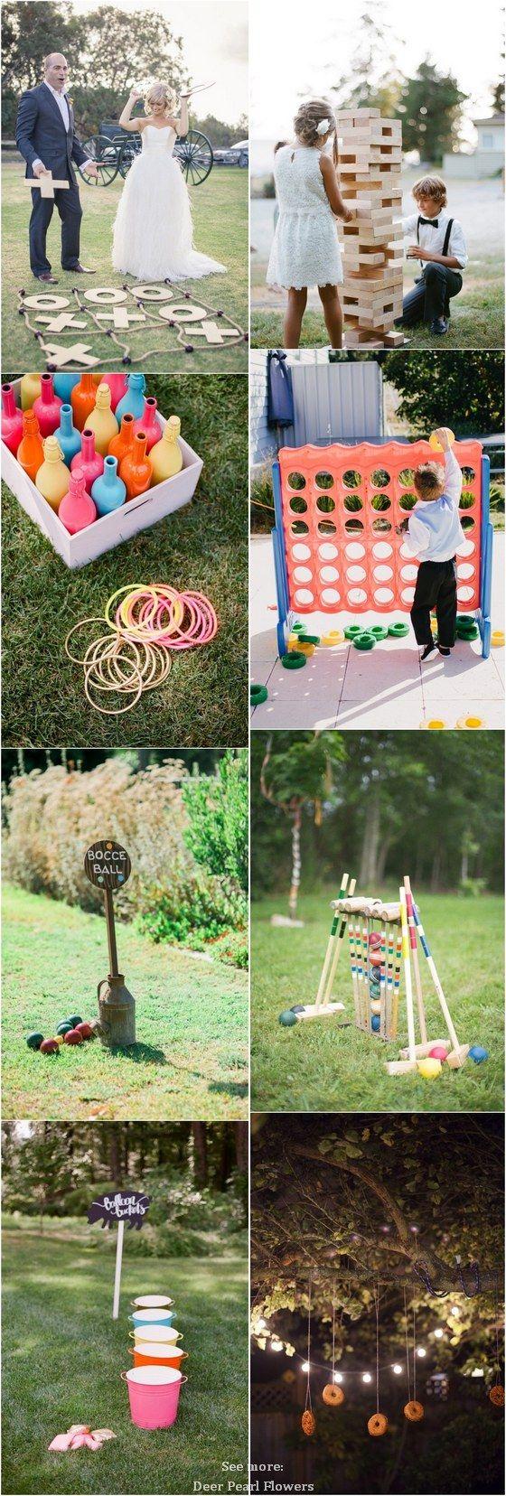 Best 25 Lawn Games Wedding ideas on Pinterest  Outdoor