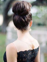 black dress. brides