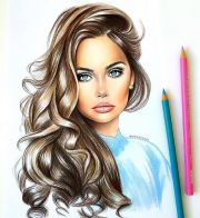 hair sketch ideas
