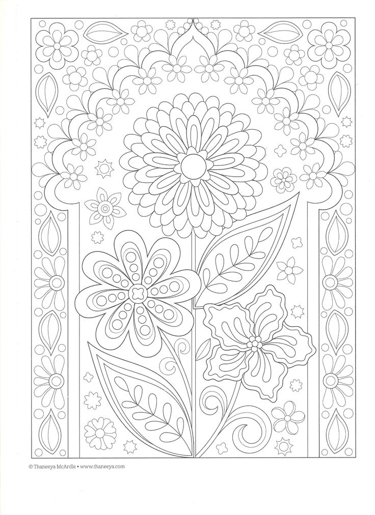 54 best images about Coloring Pages (Thaneeya McArdle Art