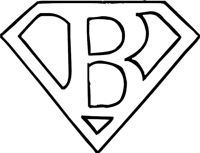letters for superman initial cape (also can find other