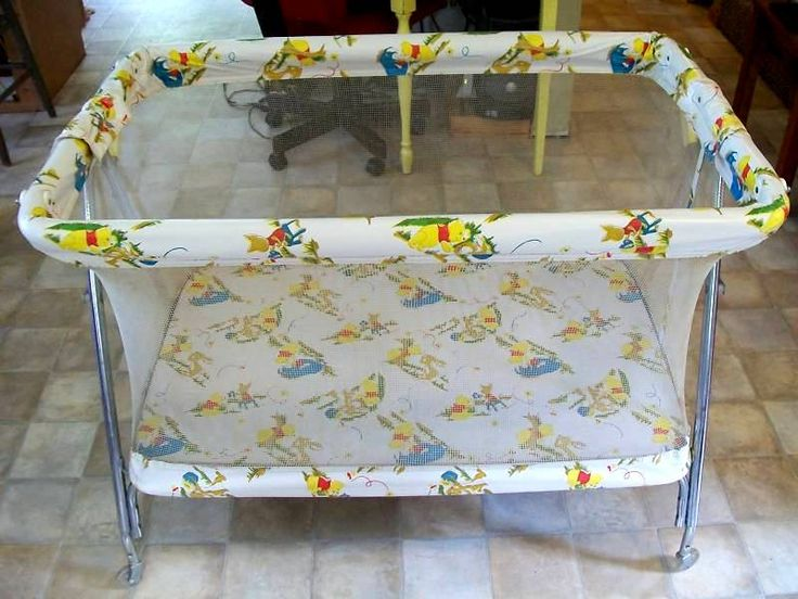 1000+ images about Vintage Playpens on Pinterest