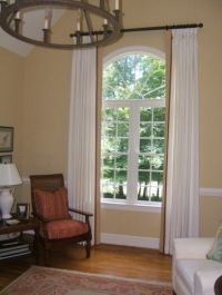 17 Best ideas about Arched Window Curtains on Pinterest ...