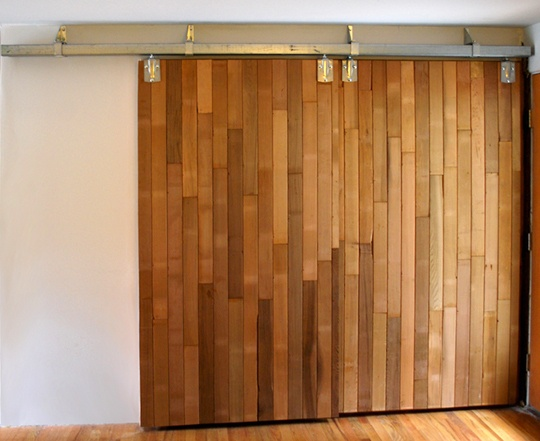 DIY Barn Doors Made From Reclaimed Lumber Diy Barn Door