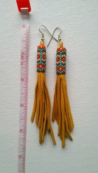 25+ best ideas about Native American Earrings on Pinterest ...