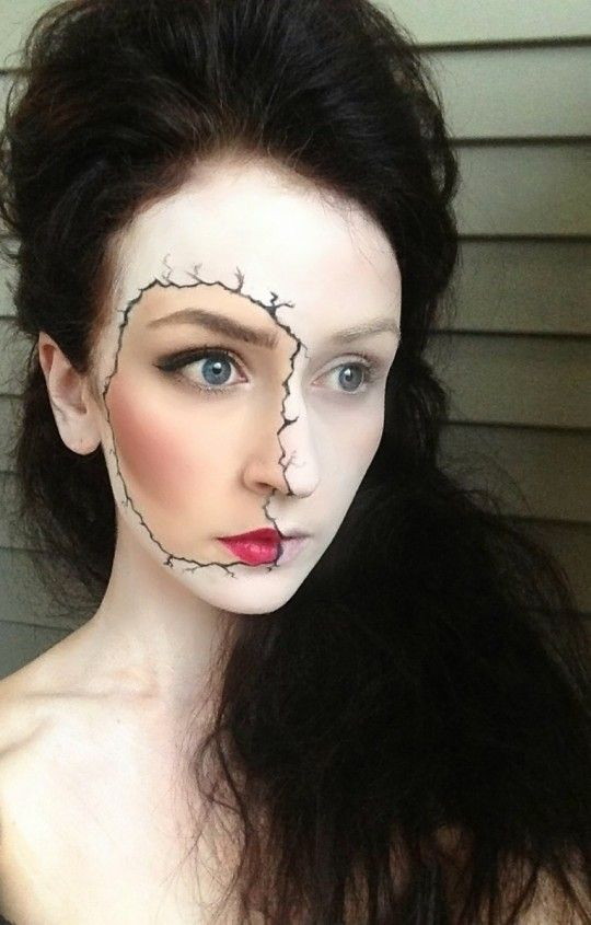 3D Make-up for Halloween