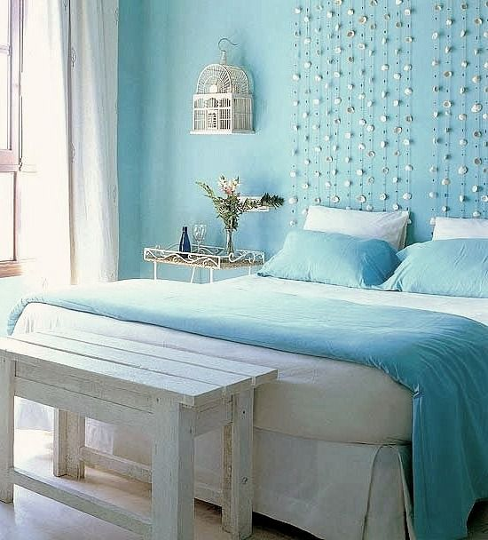 Awesome Above The Bed Beach Themed Decor Ideas Wall