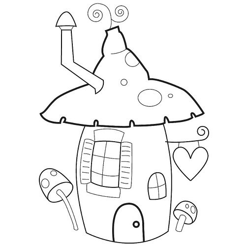 103 best images about Garden Gnomes Coloring For Adults
