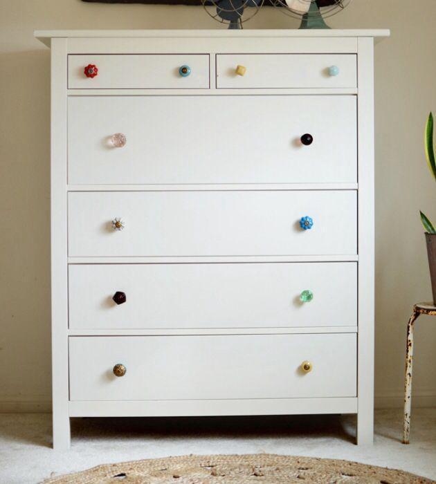 Mismatched dresser knobs  HOME DECO  Furniture  Storage