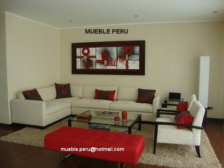 Muebles de Sala Modernos  Hogar  Pinterest  Peru