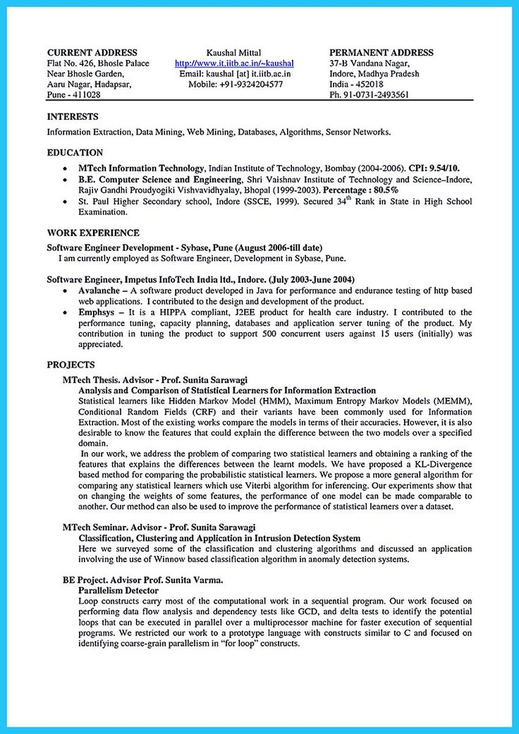hunting guide resume template
