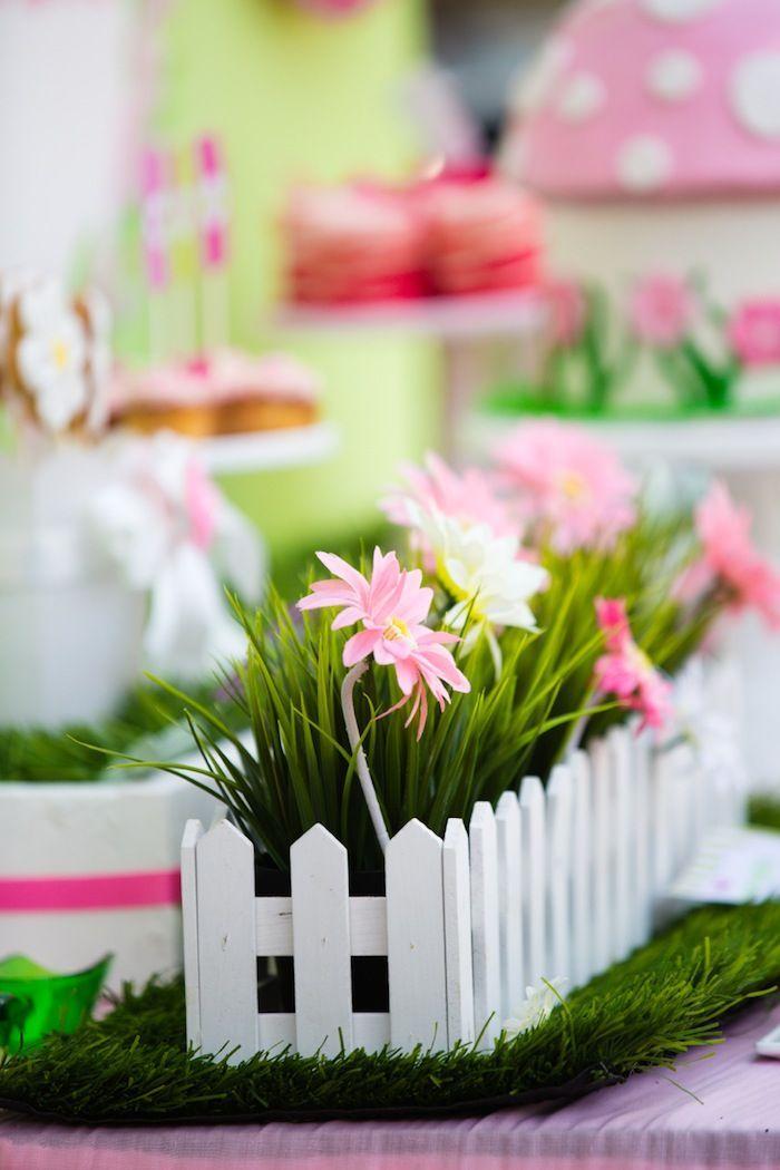 25 Best Ideas About Garden Theme Birthday On Pinterest Flower