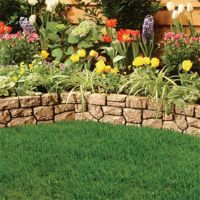 Florida Flower Bed Landscaping Ideas | Landscaping Edging ...