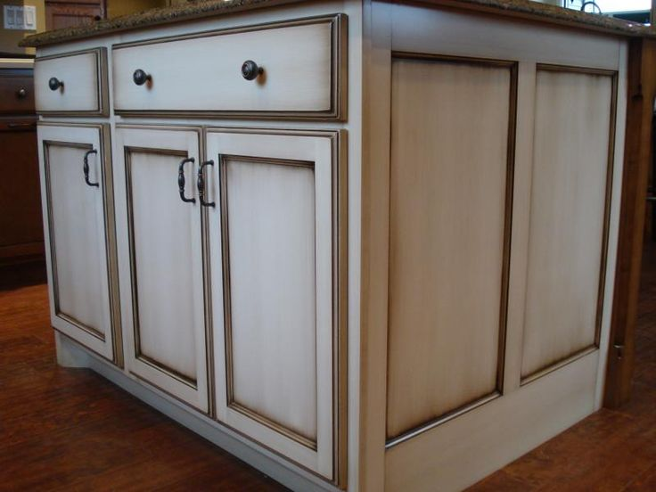 1000 ideas about White Glazed Cabinets on Pinterest