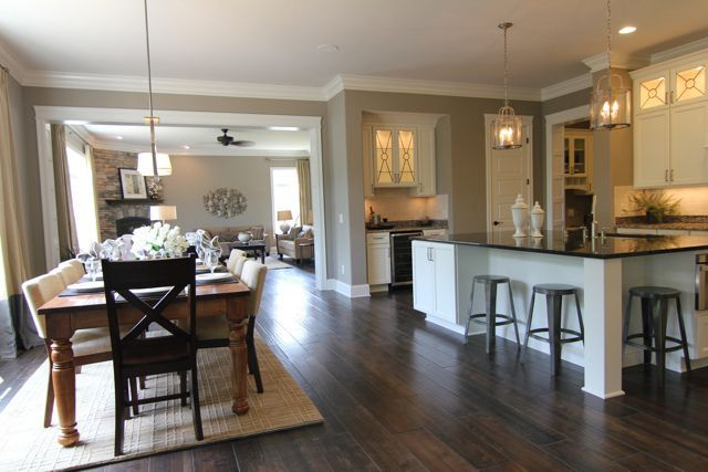 Open Kitchen Into Living Room Concepts