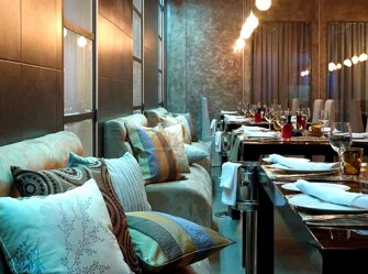 restaurant dining fine interior cafe