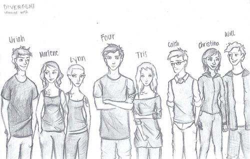 165 best Divergent fan art images on Pinterest