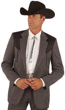 Western cut suit bolo tie  Wedding Lookbook  Pinterest