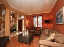 Warm Colors Living Room interior design Ideas With calm ...