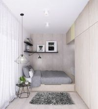 25+ best ideas about Small modern bedroom on Pinterest