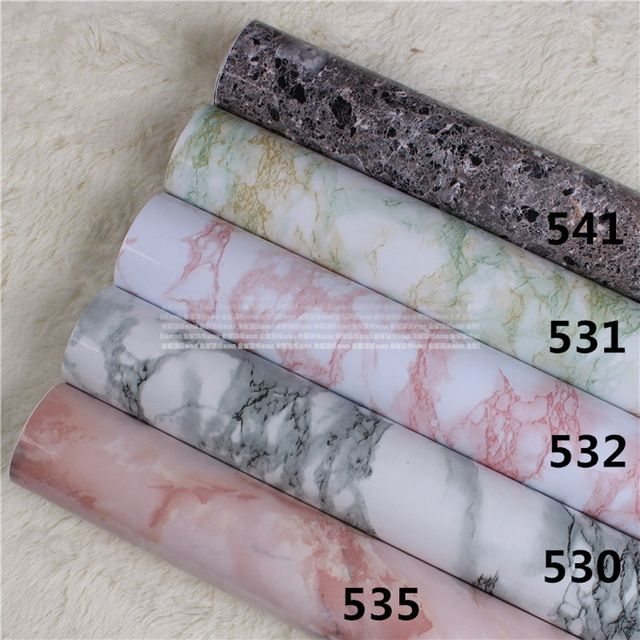 Wallpaper For Walls Marble Sticker Vinyl Wall Paper Roll Self Adhesive Stickers Modern Contact
