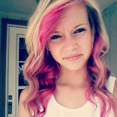 25 Best Ideas About Pink Streaks On Pinterest Pink Hair Streaks