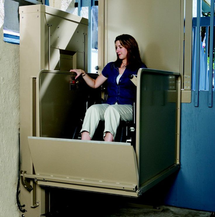 70 best images about Vertical wheelchair lift on Pinterest