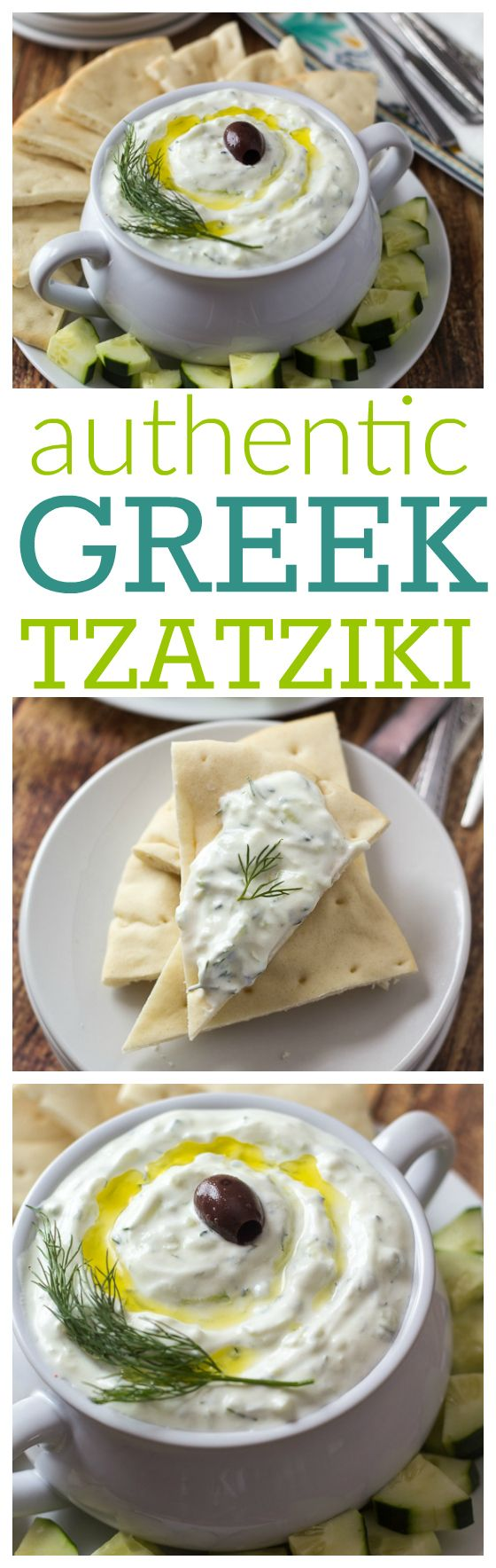 She learned how to make it while visiting Athens – this is the best way to make REAL authentic Greek tzatz