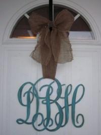 1000+ ideas about Monogram Door Decor on Pinterest ...