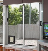 Why You need the cat door for sliding glass door | Poes ...