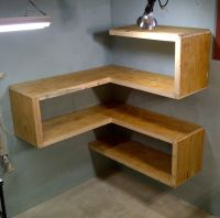 Functional and funky corner shelves and tables. Let's get ...