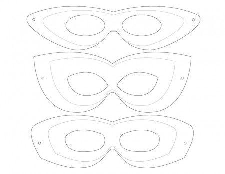 25+ bästa idéerna om Mask template på Pinterest