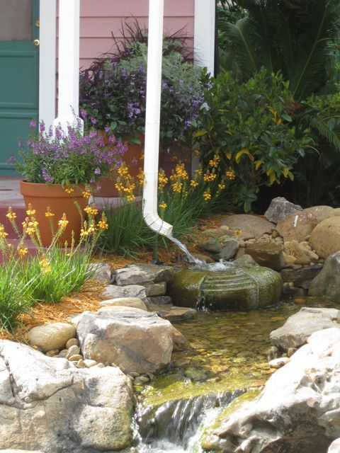 100 Best Images About Water In The Garden Rainwater Catchment