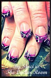 muddy girl camo nails staci's