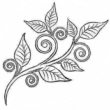 91 best images about Embroidery leaves on Pinterest