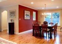 Merlot Red Accent Wall | Accent Wall | Pinterest | Wall ...
