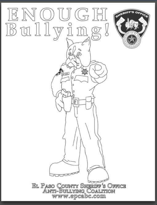 Check out our anti-bullying coloring pages collection at
