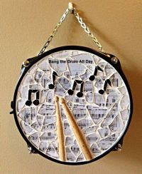 """""""I just want to bang on my drum all day"""" Repurposed snare ..."""