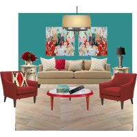 92 best images about red & teal color scheme for living ...