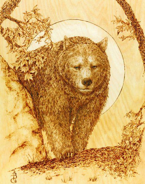 Wood-Burning Wildlife Patterns | Wildlife Wood Burning Stencils ...